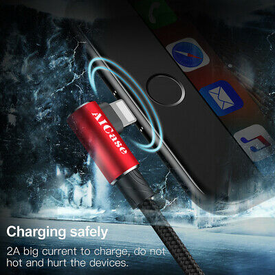 iPhone XS MAX XR X 8 7 6S AIcase USB Lightning Charging Charger Cable Data Cord 10