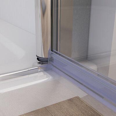 90 X 70 cm Duschkabine Dusche Duschtür Schwingtür Duschwand ...