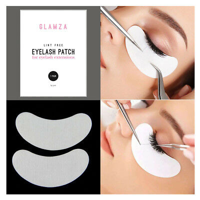 Salon Eyelash Lash Extensions Under Eye Gel Pads Lint Free Patches Make Up Tools 5