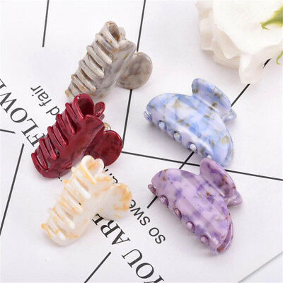 Women High Quality Acrylic Hair Claw Clips Barrette Crab Clamp Hair Accessories 3