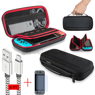 Accessories Case Bag+2 Meter Charging Cable+Screen Protector For Nintendo Switch 2