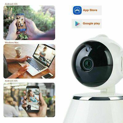 1080P HD Wireless IP Camera Home Security Smart WiFi Audio CCTV Camera UK 8