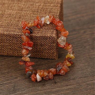 Charme Reiki Guérison Bracelets Pierre Cristal Puce Perlé Bracelet Cadeau 5