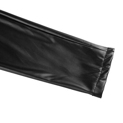 Herren Strumpfhose Wetlook Leggings schwarz Hosen Unterwäsche Pants mit Zipper 6