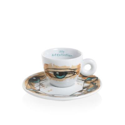 ILLY Collection 2018 MAX PETRONE 6 Tazzine Espresso Tazze Numerate e Firmate 5