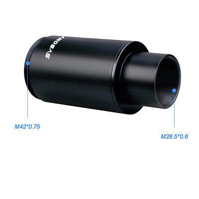 """SVBONY1.25""""T-Mount+Extended Sleeve+Camera T-Ring Adapter for Nikon DSLR/SLR Lens 10"""