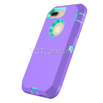 iPhone 7 8 Plus 6S XS Max XR XS X Case Cover Protective Hybrid Rugged Shockproof 7