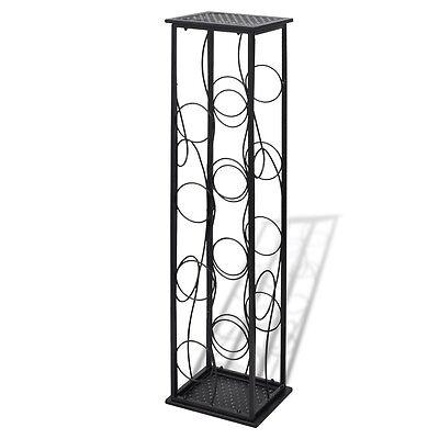 8 Metal Wine Bottle Holder Holding Collection Shelf Cabinet Cellar Storage Rack 2