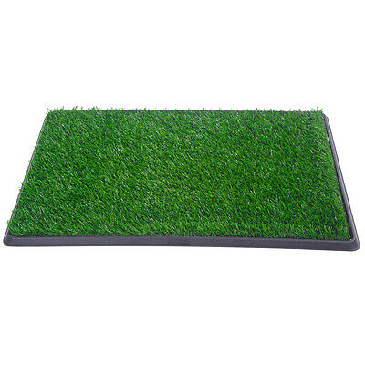 "30""x20"" Dog Toilet Pet Puppy Potty House Training Indoor Trainer Grass Mat 2"