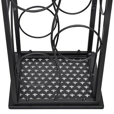8 Metal Wine Bottle Holder Holding Collection Shelf Cabinet Cellar Storage Rack 5 • AUD 49.95
