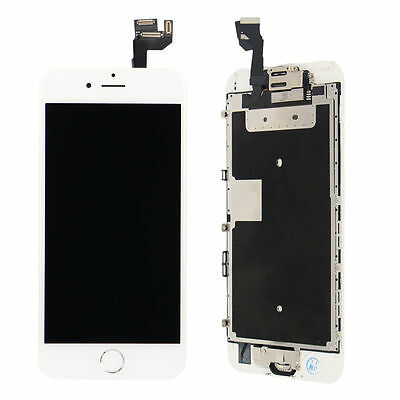 "New White Full LCD Screen Display 3D Touch Digitizer For iphone 6S Plus 6S+ 5.5"" 3"