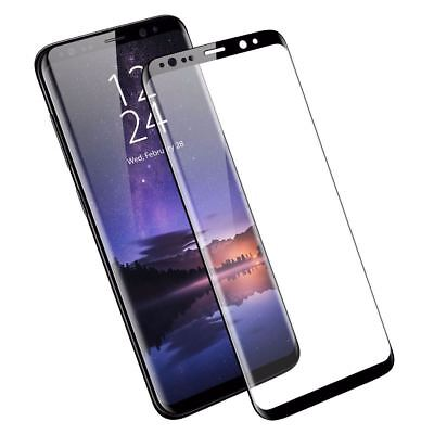 For Samsung Galaxy S9 S8 Plus Note 9 4D Full Cover Temper Glass Screen Protector 2