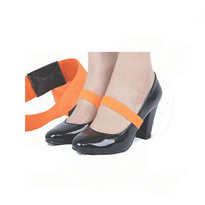 Colored Elastic Shoe Strap Lace Band For Holding Loose High Heel Shoes Decor lot
