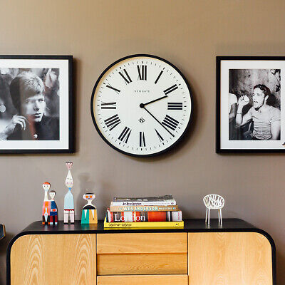 NEWGATE® CLOCKS Extra Large 53cm Black Roman Numeral Round Analogue Wall Clock 5