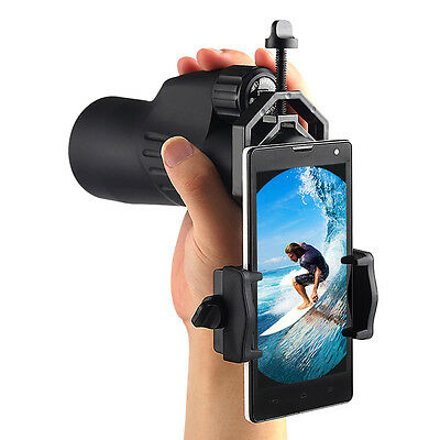 10x Universal Cell Phone Mount Adapter For Spotting Scope Monocular Telescope 7