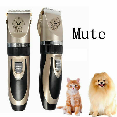 NEW Electric Animal Pet Dog Cat Hair Trimmer Shaver Razor Grooming Quiet Clipper 5