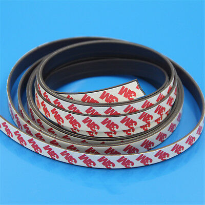 1M Long One Side Self Adhesive Magnetic Tape Magnet Strip Width 1-2mm 5