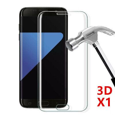 Vitre Film Protection Écran Verre Trempé Intégral 3D Samsung Note 9 8 S8 S9 S10 4