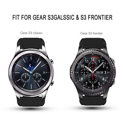 For Samsung Gear S3 Frontier / Classic Replacement Silicone Sports Band Strap 6
