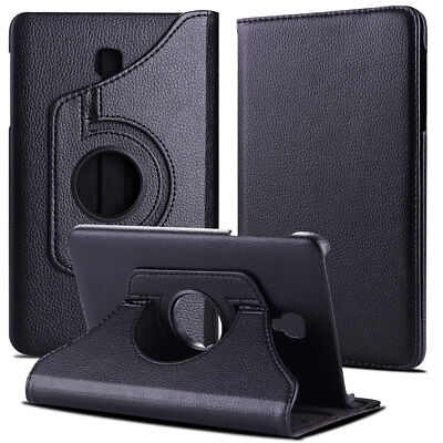 Folio Rotating Leather Case Cover For Samsung Galaxy Tab A 8.0 SM-T380 T387 T350 9