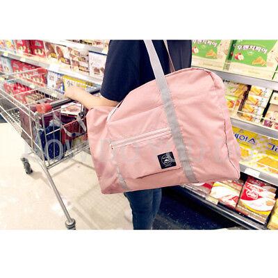 Portable Foldable Travel Storage Luggage Carry-on Big Hand Shoulder Duffle Bag 8