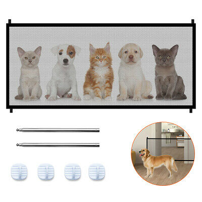 Portable Folding Safety Magic Gate Guard Mesh Fence Net for Pets Dog Puppy Cat 3