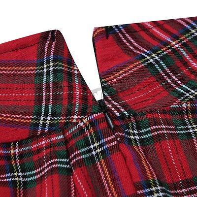 Damen Mini Rock Kurz Schulmädchen Röcke Kostüm Frauen Nachtwäsche Reizvolle Sexy 2