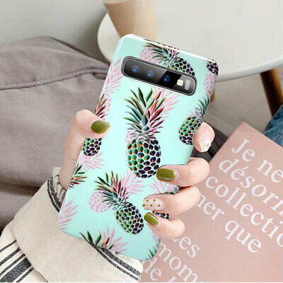 For Samsung Galaxy Note 10 Plus S10 Plus S10e Flower Clear Silicone Case Cover 8