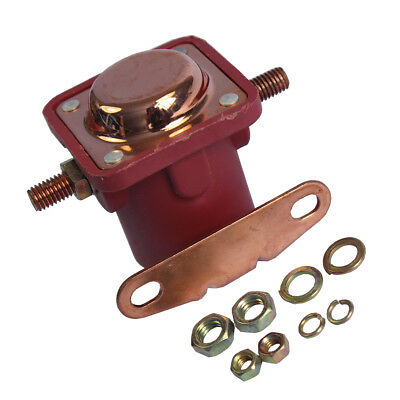 New 12V Heavy Duty Solenoid Relay Red Fits For Ford Starter Car Truck SW3 SNL135 4