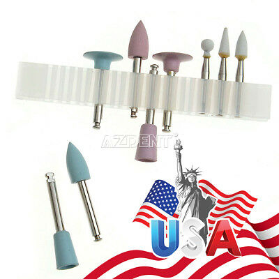 USPS 5XDental Composite Polishers RA0309 Low Speed 3 Ceramic & 6 Silicone Rubber