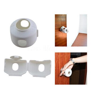 Baby Safety Door Knob Covers DoorKnob Locks Child Children Kids Proof 5 Pack 4