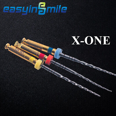10X W-XOne Gold X-One Assorted Endodontic File Root Canal 25MM #25EASYINSMILE 9