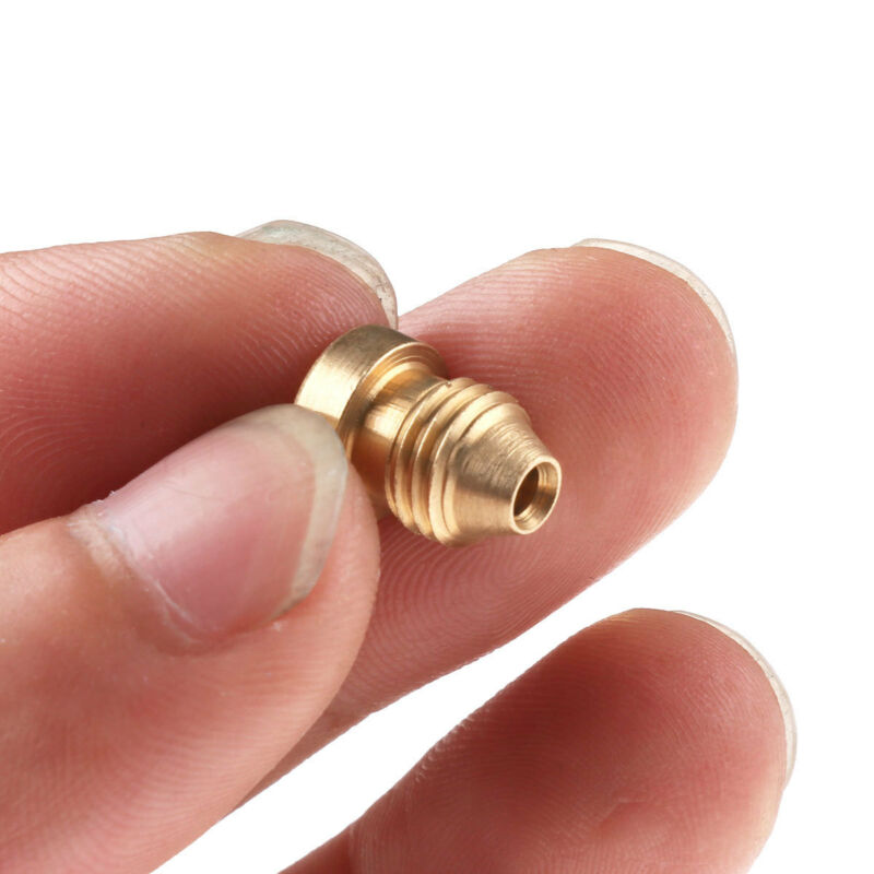 1Pc 1.1mm Foam Cannon Orifice Nozzle Tips for Snow Foam Lance Universal Brass 6