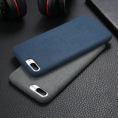 For iPhone XS Max XR X 6s 7 8 Plus Warm Fabric Soft Shockproof Matte Cover Case 9