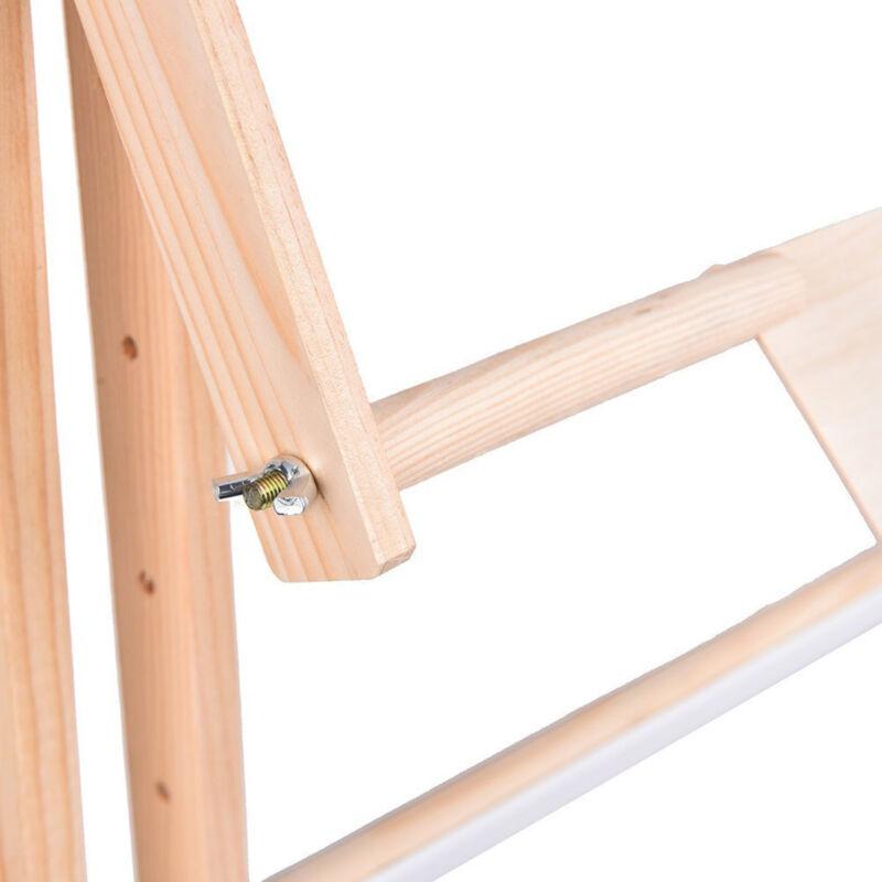 Adjustable Solid Wood Cross Stitch Rack 50cm Desktop Embroidery Frame Stand Tool