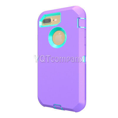 iPhone 7 8 Plus 6S XS Max XR XS X Case Cover Protective Hybrid Rugged Shockproof 5