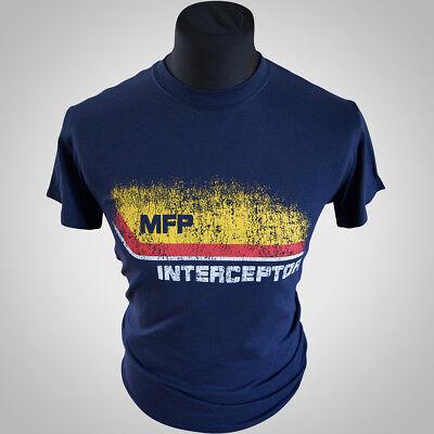 Mfp Homme Mad V8 Max Bleu Pour Marine Shirts T Rétro Film Shirt POZkXiuT