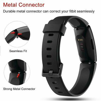 For Fitbit Inspire / Inspire HR Replacement Silicone Wristband Strap Watch Band 2