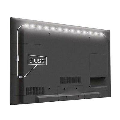 5V 5050 60SMD/M RGB LED Strip Light Bar TV Back Lighting Kit+USB Remote Control 9