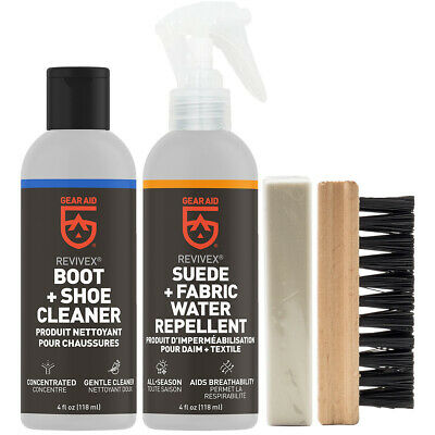 Gear Aid Revivex Suede and Fabric Boot Care Kit - 2-Pack 2
