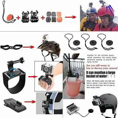 50 PCS For GoPro Hero 7 6 5 Accessories Kit Action Camera Mount Accessory Bundle 3