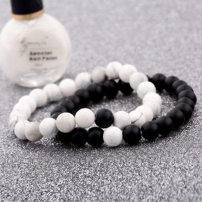 Men Women 8mm Natural Round Gemstone Bead Handmade Beads Bracelets Charm Jewelry 9