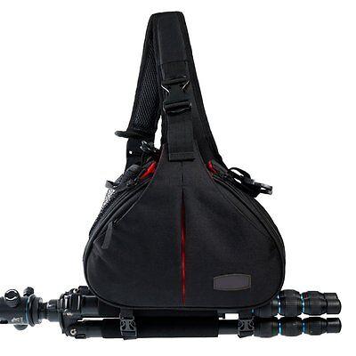 New Canon Nikon Sony Camera Backpack Sling Shoulder Bag Case Shockproof DSLR SLR 4