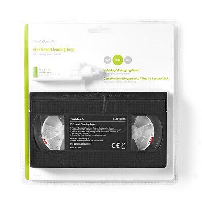 Cassette Video Vhs De Nettoyage Pour Magnetoscope Avec Liquide K7 Nettoyante 2