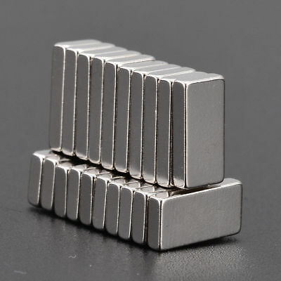 20x Rechteckig Starke Quader Neodym Magnete N52 NdFeB Permanentmagnet xi4
