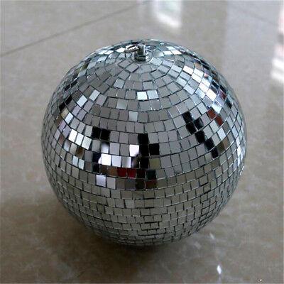 Mirror Glass Ball Disco DJ Stage Lighting Effect Party Home Decor Xmas 4-10cm 8