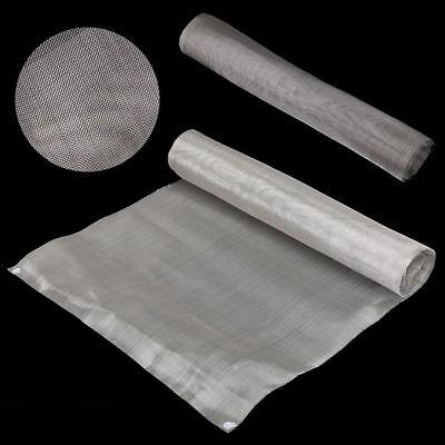 Fine Stainless Steel Woven Wire Mesh Filter Grading Sheet Grill Silk Heavy Gauze 2