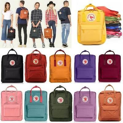 Fjällräven Kanken Rucksack Schule Sport Freizeit Trend Tasche Backpack 16L/20L 2
