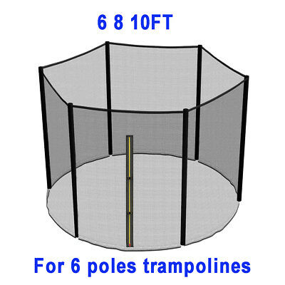 Trampoline Replacement Pad Padding Safety Net Cover Ladder Skirt 6 8 10 12 14Ft 3