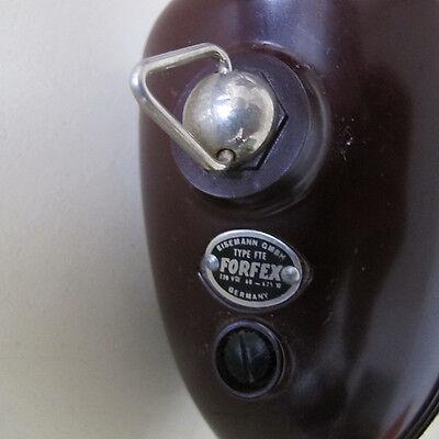 """ Strahlenpistole "" Haartrockner Eisemann Bosch Phenoplast Bakelit vintage 50er"